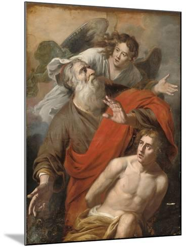 The Sacrifice of Isaac-Constantin Verhout or Voorhout-Mounted Giclee Print