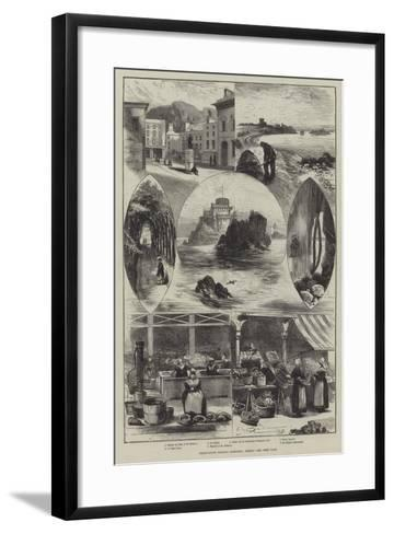 Whitsuntide Holiday Sketches, Jersey-Edwin Buckman-Framed Art Print