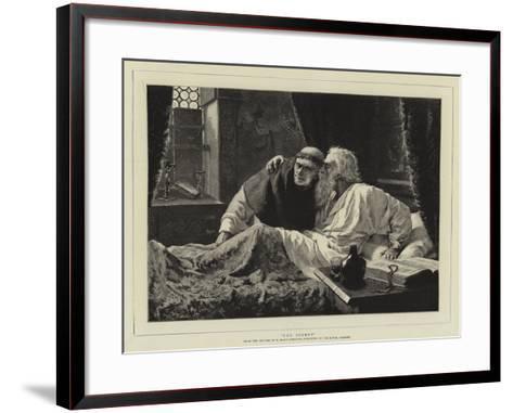 The Secret-Edmund Blair Leighton-Framed Art Print