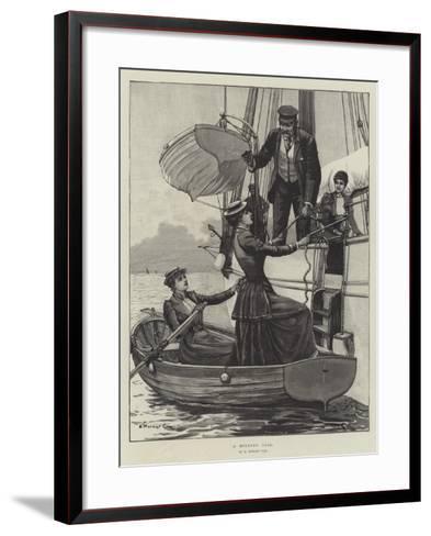 A Morning Call-Edward Morant Cox-Framed Art Print