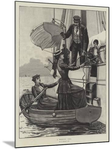 A Morning Call-Edward Morant Cox-Mounted Giclee Print