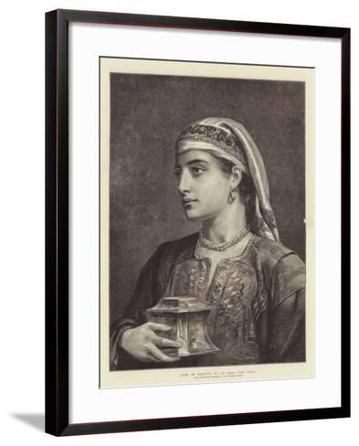 Type of Beauty, IV-Edwin Long-Framed Art Print