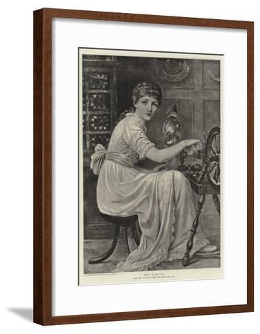 The Spinster-Edwin Long-Framed Art Print