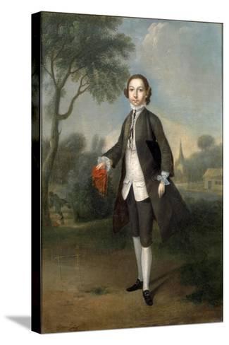Portrait of Sir William Benett-Edward Penny-Stretched Canvas Print