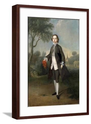 Portrait of Sir William Benett-Edward Penny-Framed Art Print