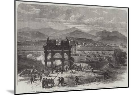 The Civil War in China-Edmund Morison Wimperis-Mounted Giclee Print