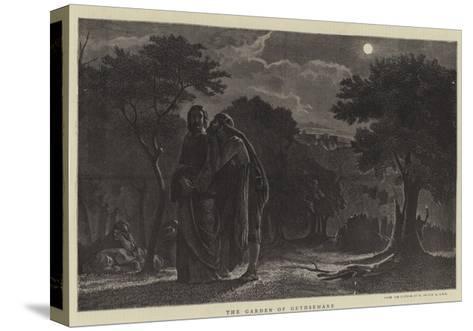The Garden of Gethsemane-Edward A. Armitage-Stretched Canvas Print