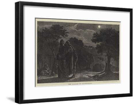 The Garden of Gethsemane-Edward A. Armitage-Framed Art Print