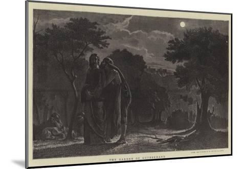 The Garden of Gethsemane-Edward A. Armitage-Mounted Giclee Print