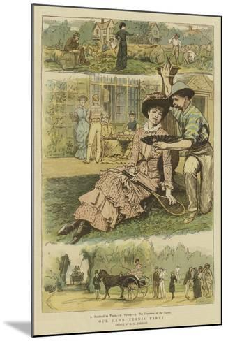 Our Lawn Tennis Party-Edward Killingworth Johnson-Mounted Giclee Print