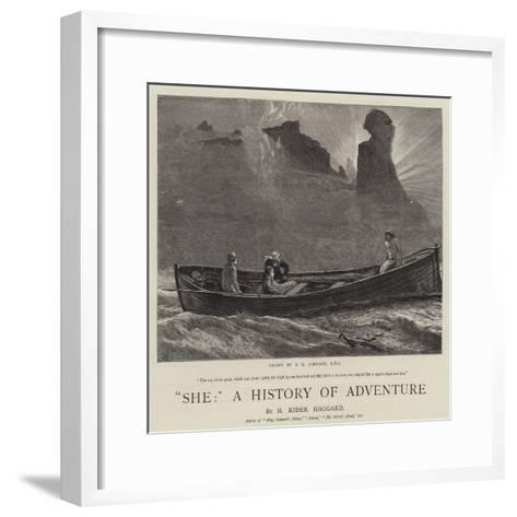 She, a History of Adventure-Edward Killingworth Johnson-Framed Art Print