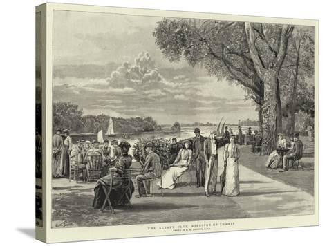 The Albany Club, Kingston-On-Thames-Edward Killingworth Johnson-Stretched Canvas Print