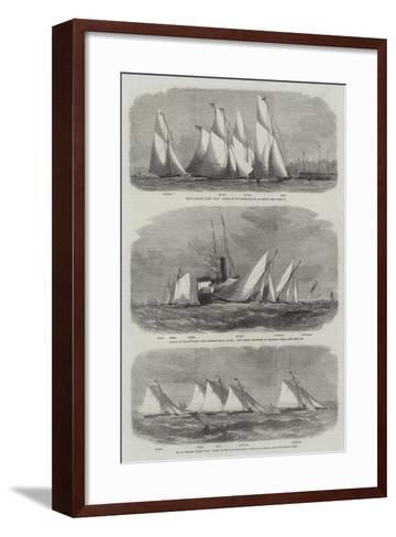 Royal Thames Yacht Club-Edwin Weedon-Framed Art Print