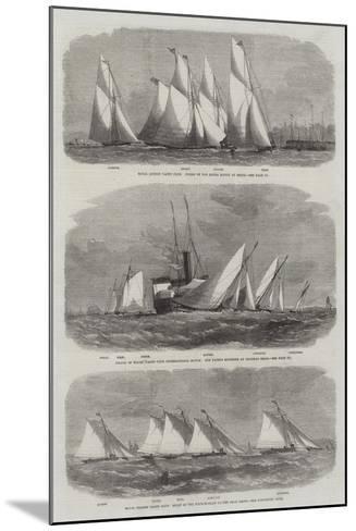 Royal Thames Yacht Club-Edwin Weedon-Mounted Giclee Print