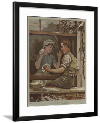 A Picture Without Words-Edward Killingworth Johnson-Framed Art Print