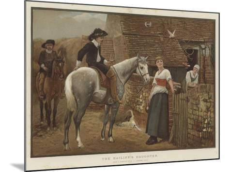 The Bailiff's Daughter-Edward Killingworth Johnson-Mounted Giclee Print