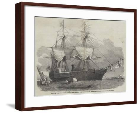 The Royal Mail Steam-Packet Company's Ship Amazon-Edwin Weedon-Framed Art Print