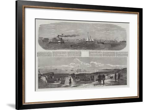 The War in America-Edwin Weedon-Framed Art Print