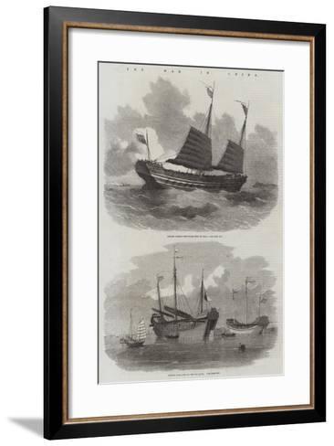 The War in China-Edwin Weedon-Framed Art Print