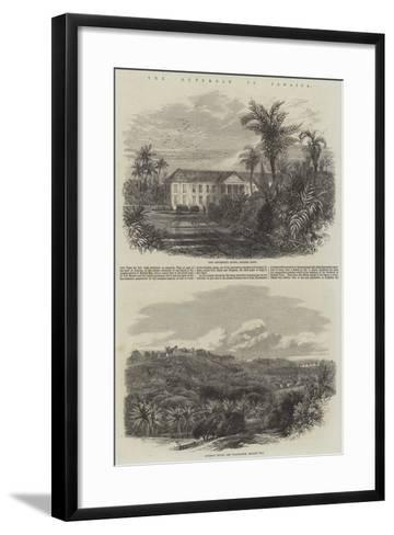 The Outbreak in Jamaica-Edmund Morison Wimperis-Framed Art Print
