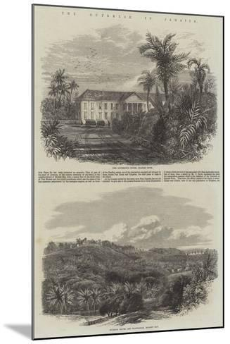 The Outbreak in Jamaica-Edmund Morison Wimperis-Mounted Giclee Print