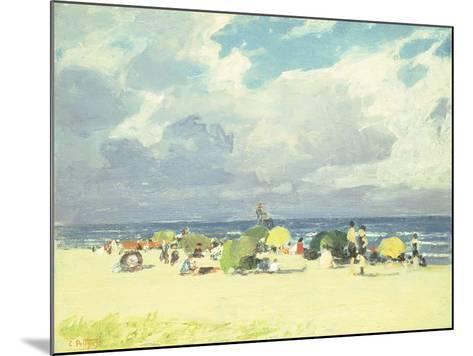 Purple Beach Scene-Edward Henry Potthast-Mounted Giclee Print