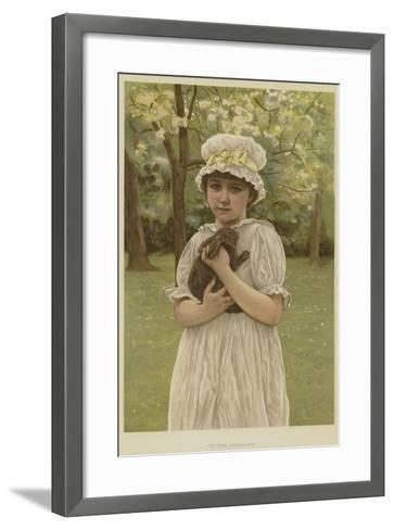 In the Orchard-Edward Killingworth Johnson-Framed Art Print