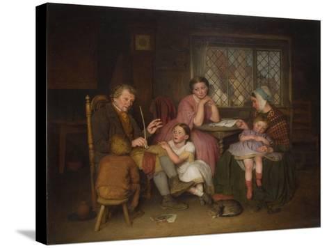 Grandfather's Tale, 1860-Edward Thompson Davis-Stretched Canvas Print