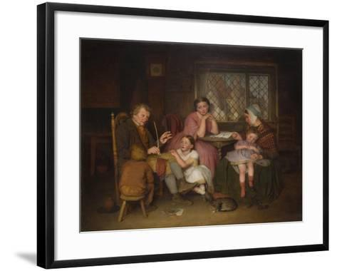 Grandfather's Tale, 1860-Edward Thompson Davis-Framed Art Print