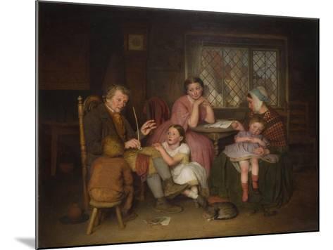 Grandfather's Tale, 1860-Edward Thompson Davis-Mounted Giclee Print