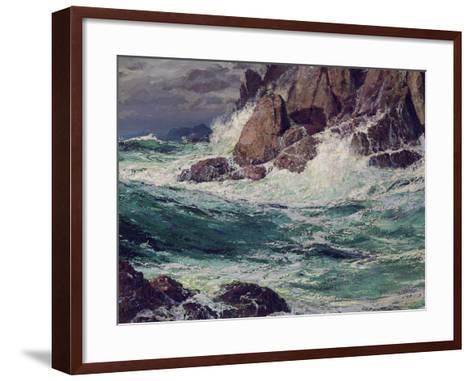 Stormy Seas, 1923-Edward Henry Potthast-Framed Art Print