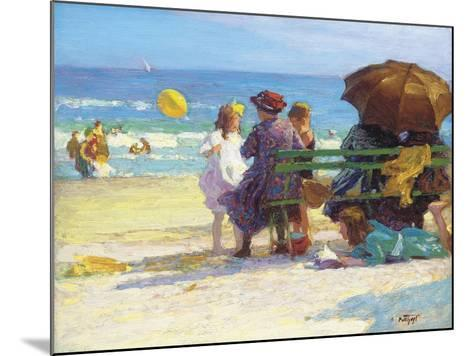 A Family Outing-Edward Henry Potthast-Mounted Giclee Print