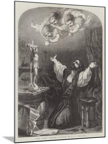The Ivory Carver-Edward Henry Wehnert-Mounted Giclee Print