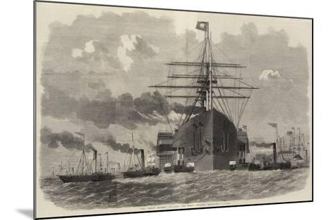 The Great Eastern Rounding the Point Opposite Blackwall-Edwin Weedon-Mounted Giclee Print