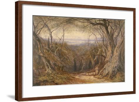 Corfu, 1871-Edward Lear-Framed Art Print