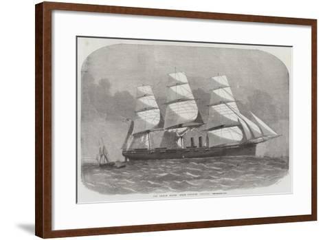 The United States' Steam Corvette Niagara-Edwin Weedon-Framed Art Print