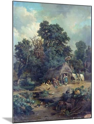 Peasant Landscape-Edouard-Theophile Blanchard-Mounted Giclee Print