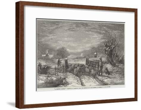 A Winter's Morning-Edward Duncan-Framed Art Print