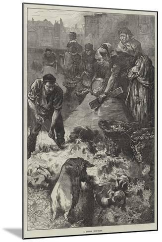 A London Dust-Yard-Edwin Buckman-Mounted Giclee Print