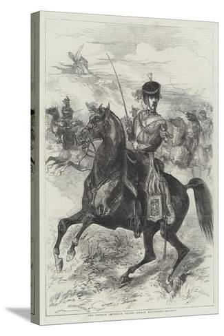 The French Imperial Guard, Horse Artillery-Edmond Morin-Stretched Canvas Print
