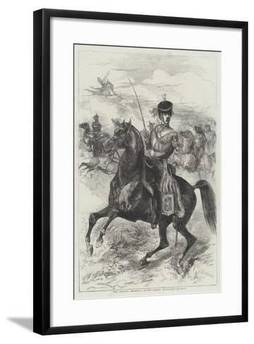 The French Imperial Guard, Horse Artillery-Edmond Morin-Framed Art Print