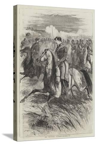 The Chasseurs D'Afrique-Edmond Morin-Stretched Canvas Print