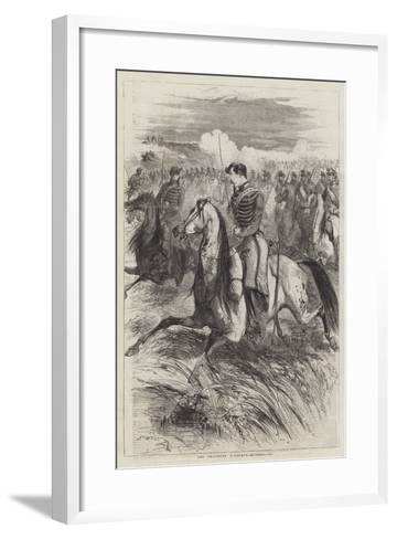 The Chasseurs D'Afrique-Edmond Morin-Framed Art Print
