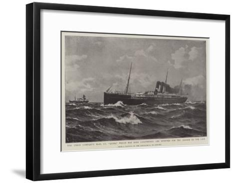 The Union Company's Mail Ss Moor-Eduardo de Martino-Framed Art Print