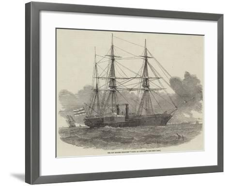 The New Spanish Steam-Ship Ysabel La Catolica-Edwin Weedon-Framed Art Print