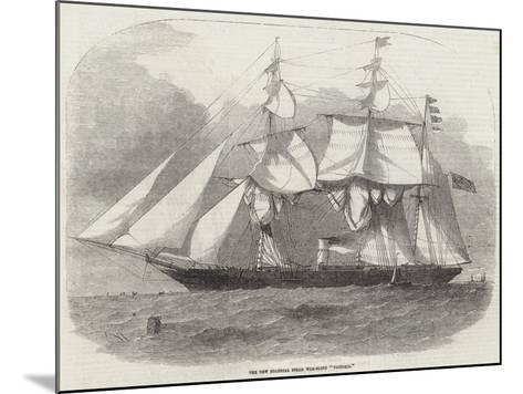 The New Colonial Steam War-Sloop Victoria-Edwin Weedon-Mounted Giclee Print