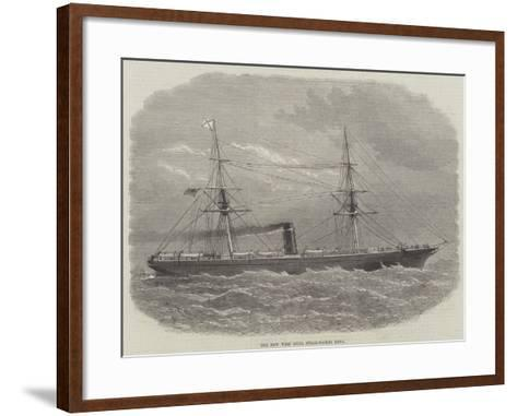 The New West India Steam-Packet Neva-Edwin Weedon-Framed Art Print
