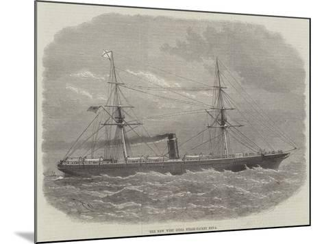 The New West India Steam-Packet Neva-Edwin Weedon-Mounted Giclee Print
