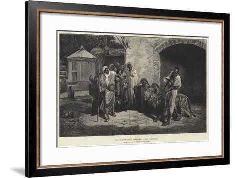 The Marabout (Sacred) Lion, Algiers-Eugene Pavy-Framed Art Print