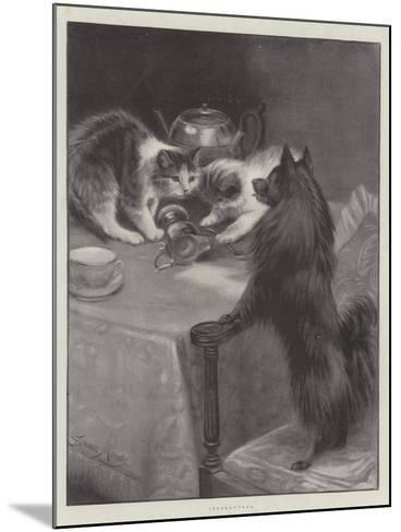 Interrupted-Fannie Moody-Mounted Giclee Print